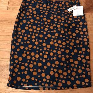 3XL LuLaRoe Polka Dot Cassie Pencil ✏️ Skirt.